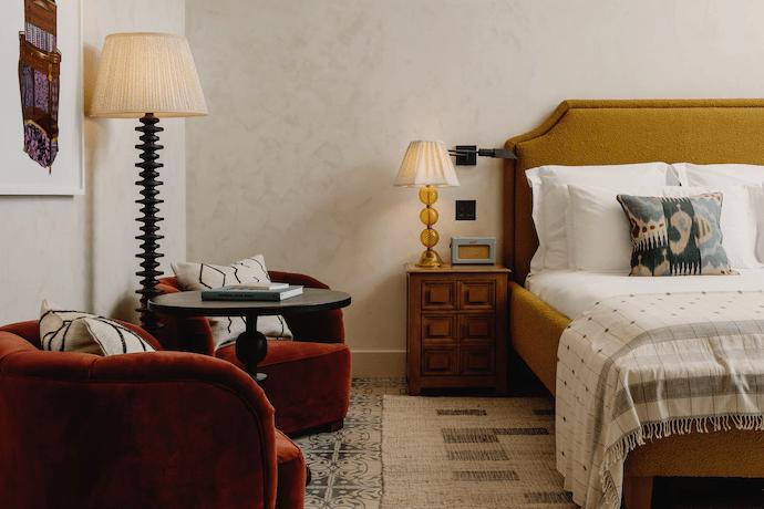 soho house austin guest room