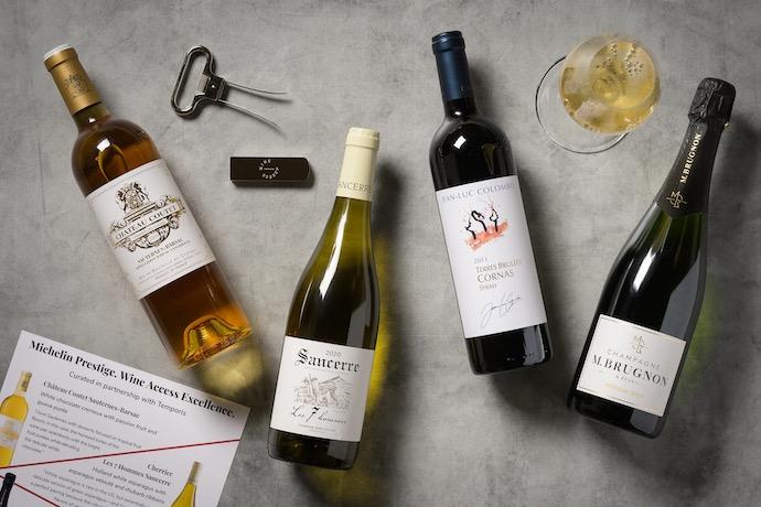 wine access michelin