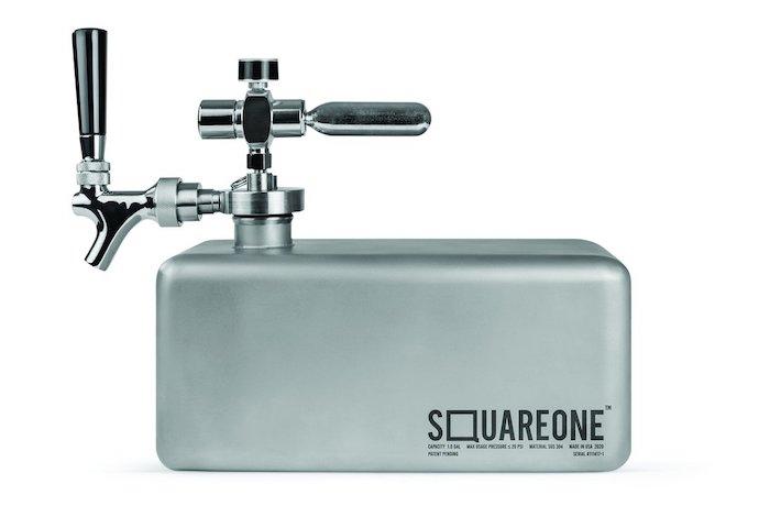squareone mini keg