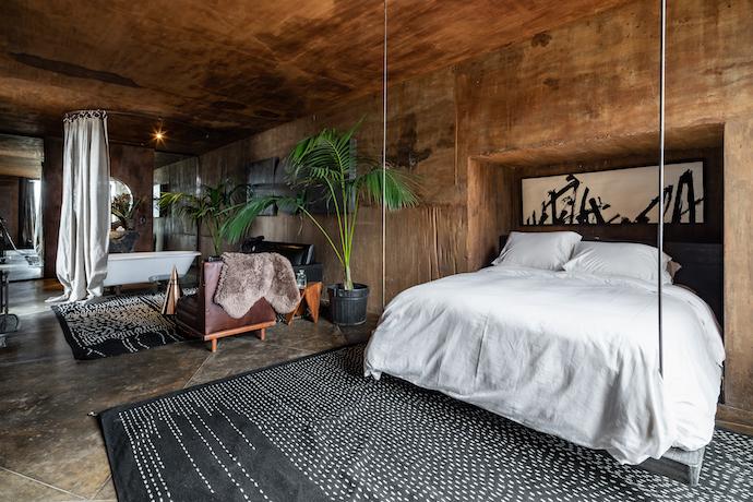 Casa Siilencio guest room