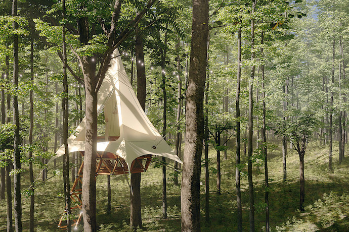 o2 treehouse treewalkers