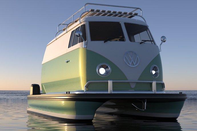 Floating Motors VW bus