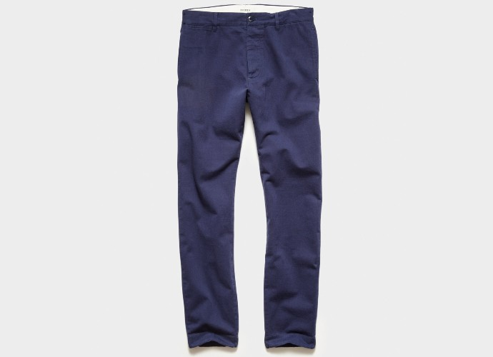 Todd Snyder japanese selvedge chinos