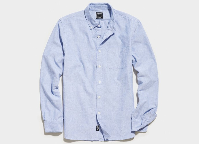 Todd Snyder japanese selvedge oxford shirt