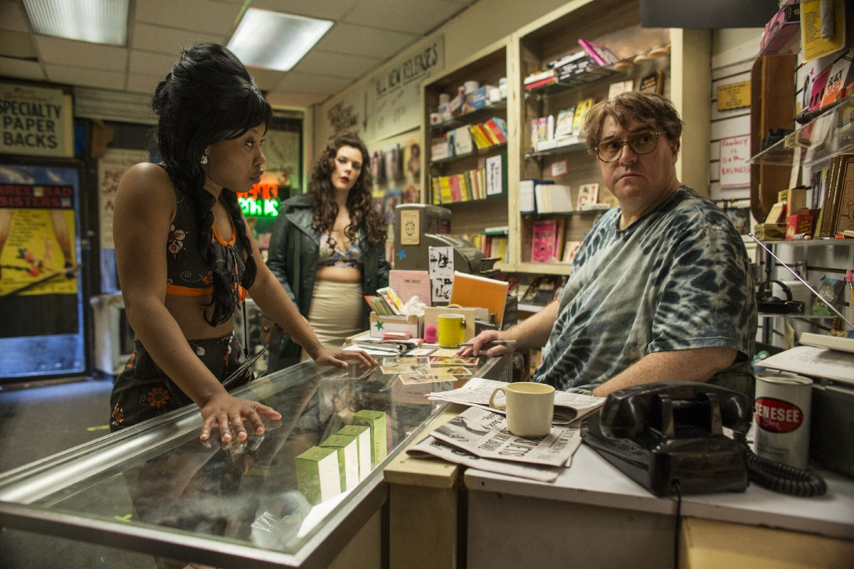 Darlene at the porn shop on The Deuce HBO