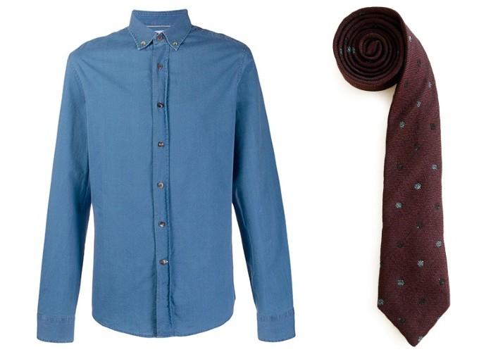 Brunello Cuccinelli shirt with Alexander Olch tie