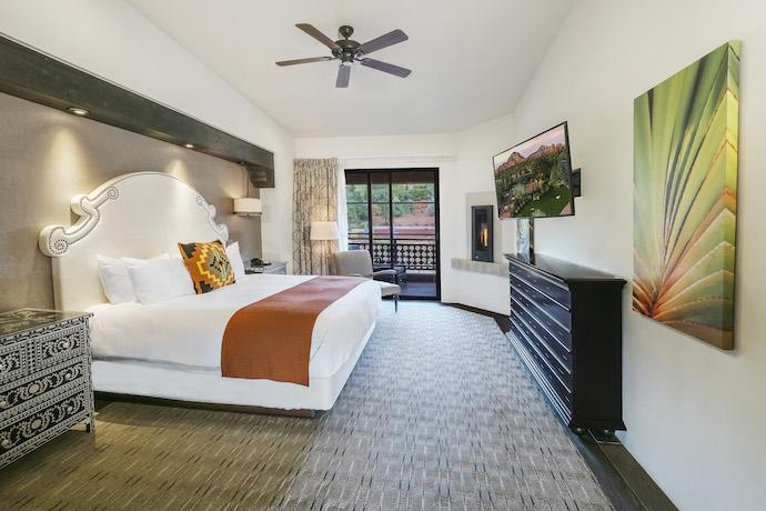 sedona wilde resort and spa guest room