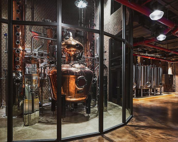 Great Jones Distilling Co. copper vendome still