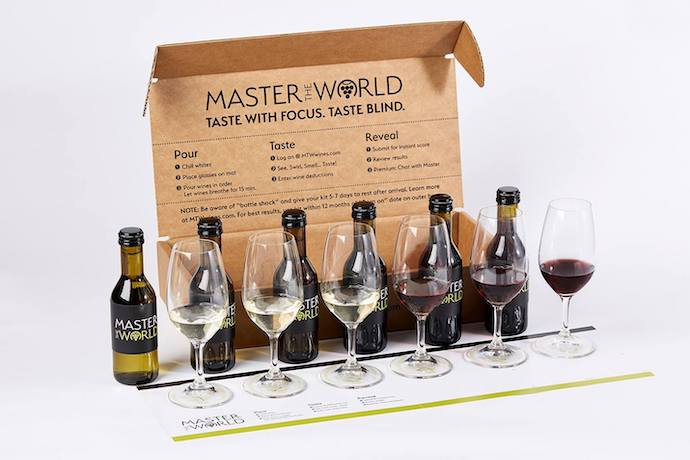 Master the World wine tasting kit