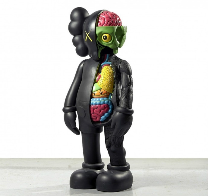 Four Foot Dissected Companion by Kaws