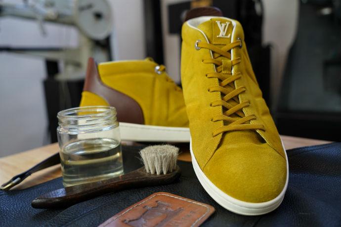 The Cobblers sneaker repair