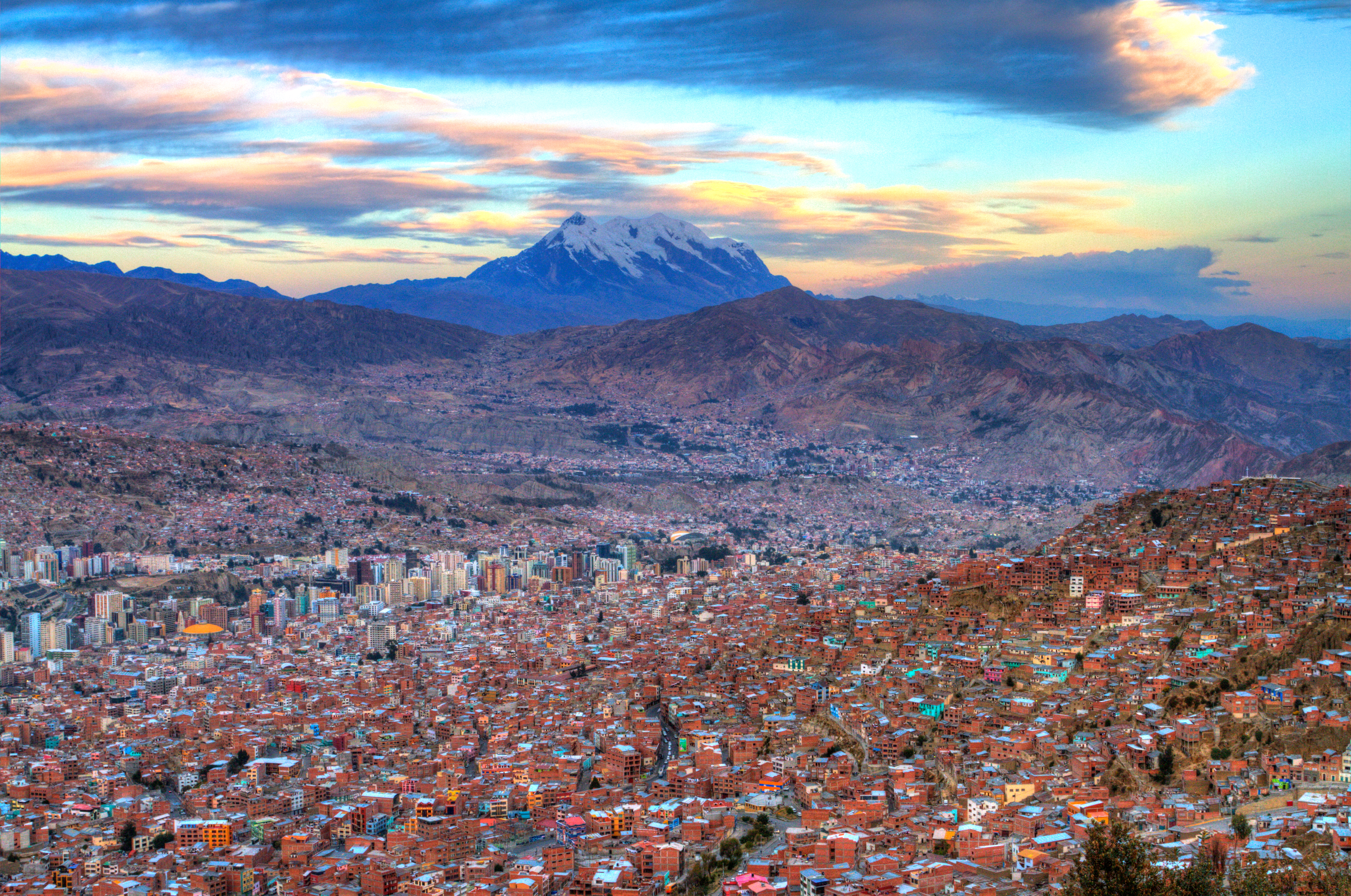 La Paz Bolivia Capital Mountain Skyline Expat