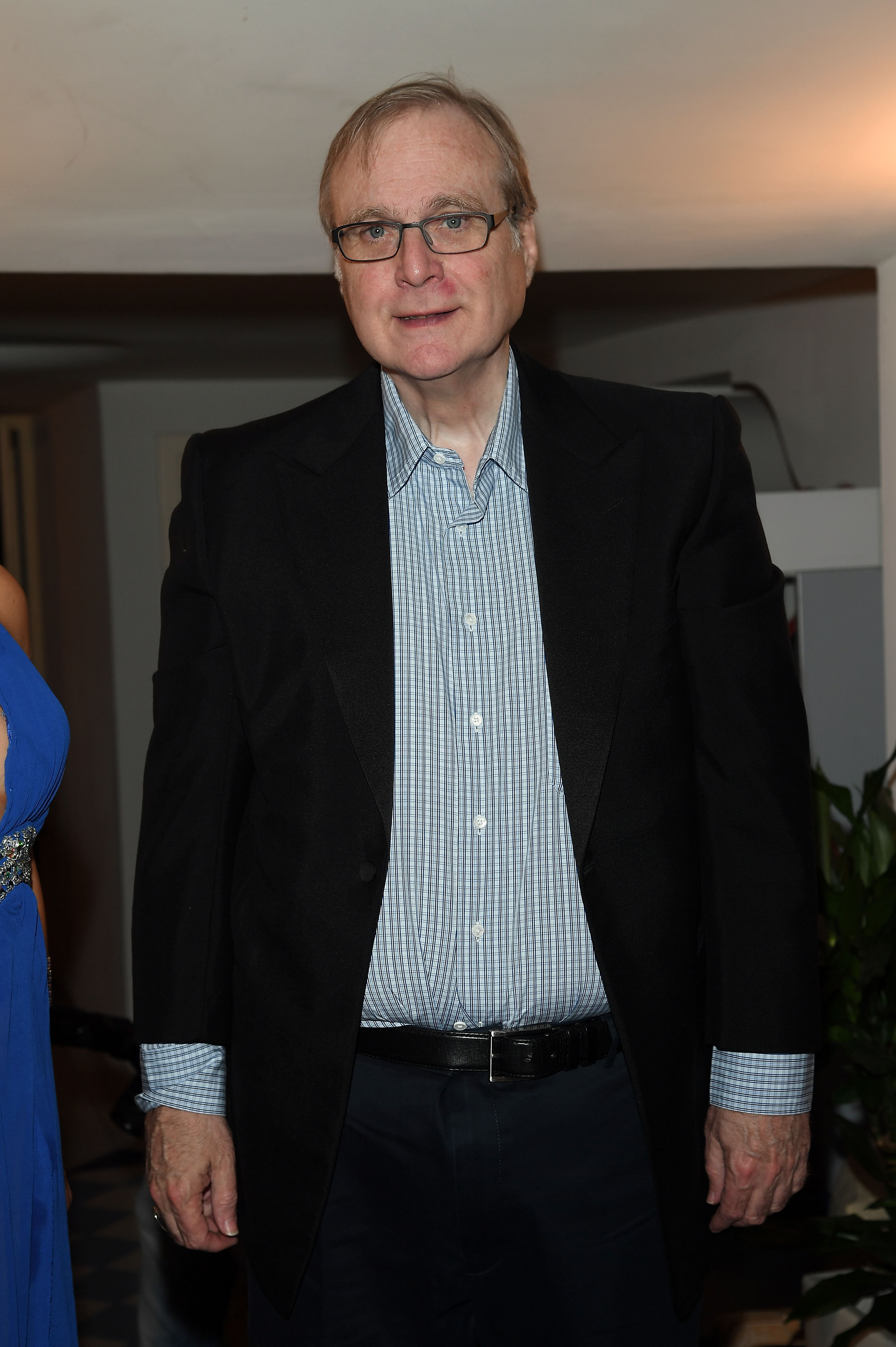 Paul Allen Microsoft Co-Founder Quincy Jones Musician