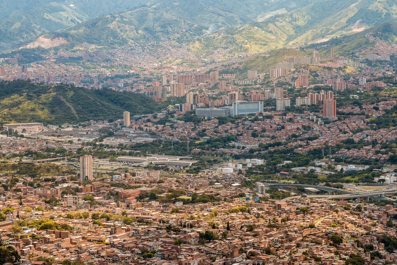 Medillín Columbia Mountains Escobar Expats