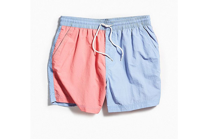 73e1c2c977 Urban Outfitters Color-Blocked Swim Short, $39 *Extreme Axl Rose voice*