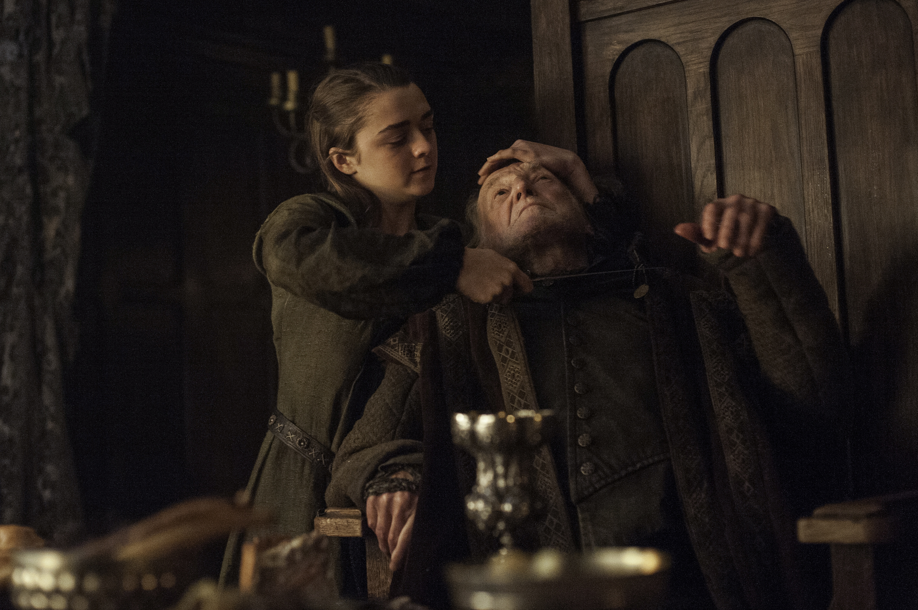 Game of Thrones Arya Killing Walder Frey