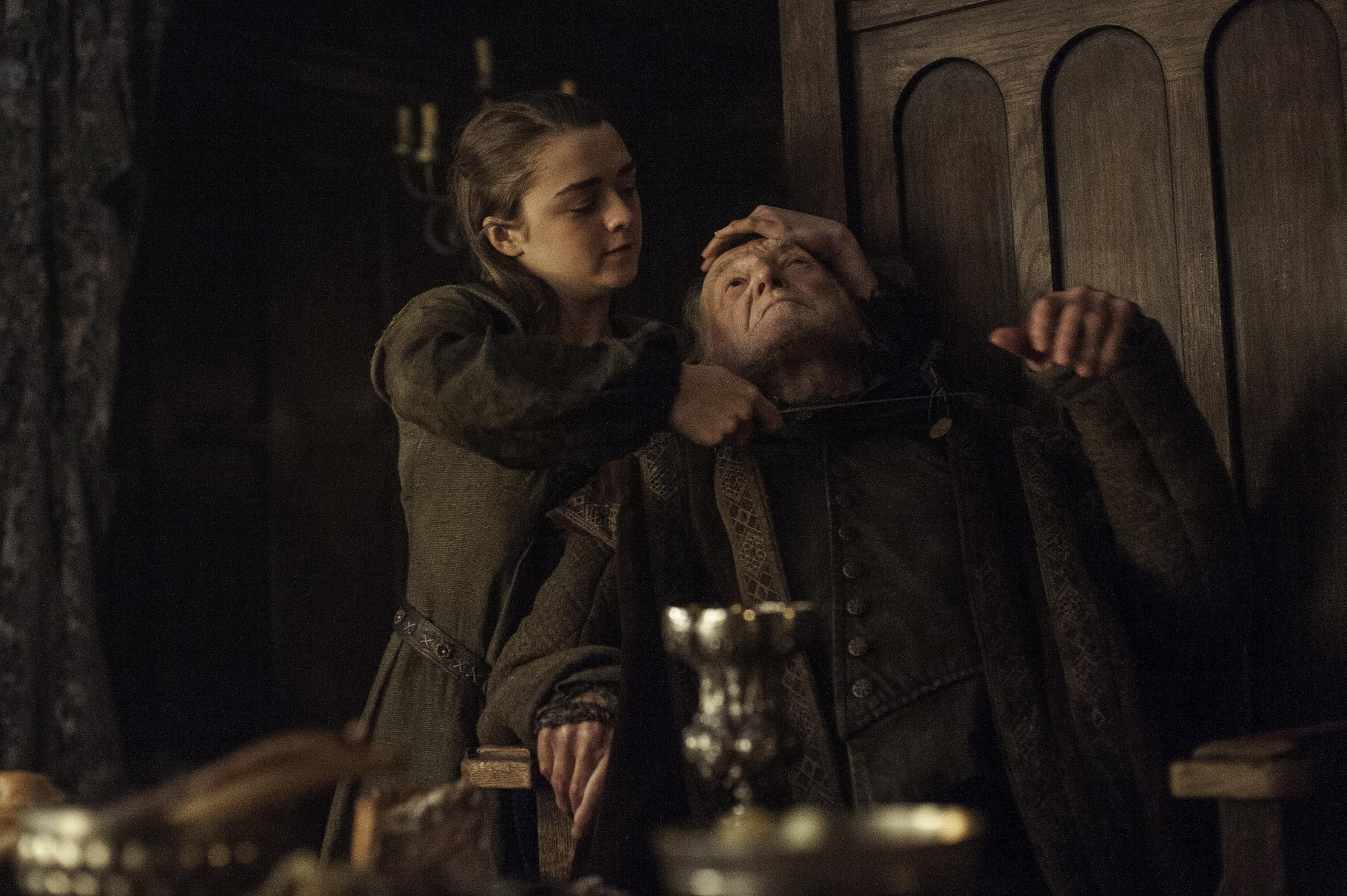 Game of Thrones Arya Killing Walder Frey
