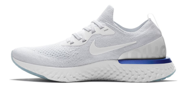 It Also Happens To Look Good Debuting A Patented Flyknit Upper In White And Midnight Blue Colorways With An Overall Design Landing Somewhere Between