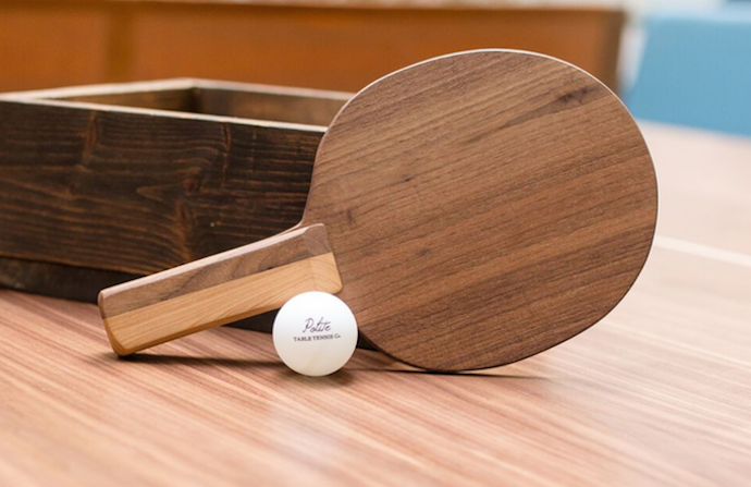 These Custom Hardwood Ping-Pong Tables Are So Clean You Could Eat Off of Them