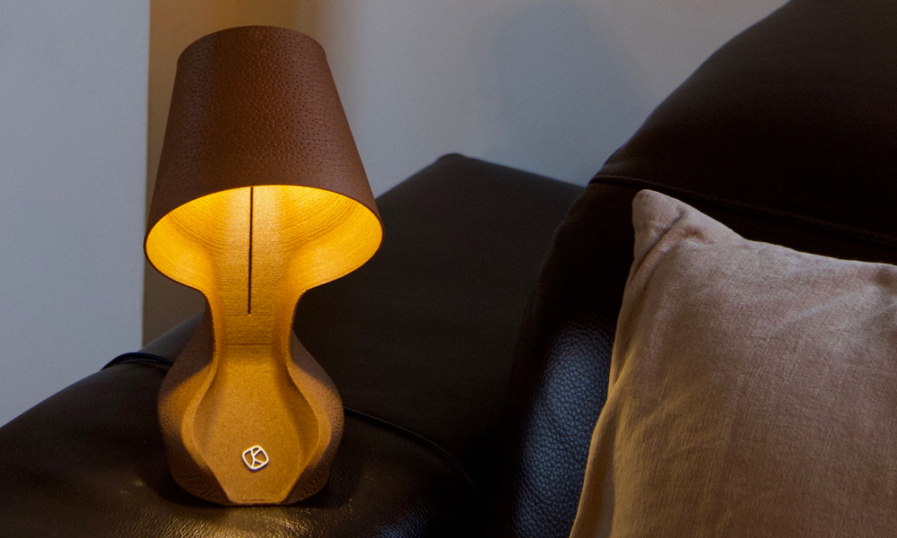 Ohmie Lamps Are Made From Orange Peels