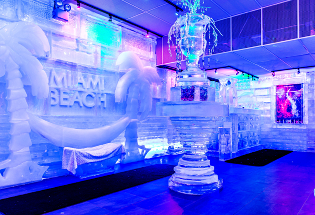Drinkhouse Fire Amp Ice Miami Beach Cool As Ice