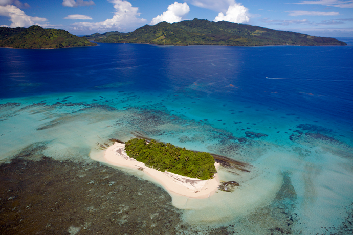 Extreme Glamping on a Private Island in Fiji