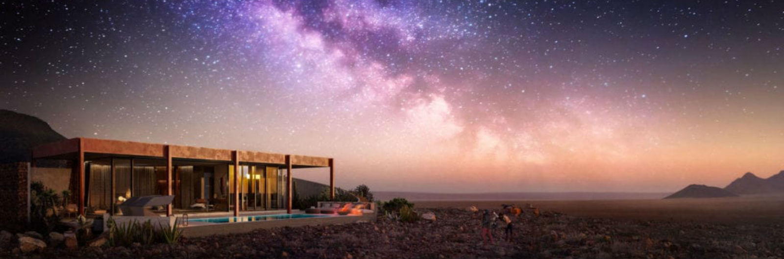 A Desert Retreat at the Foot of Ancient Mountains