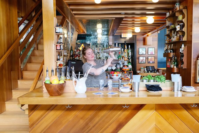 Grown-Up Bunk Beds and Russian Gin and Tonics in Downtown