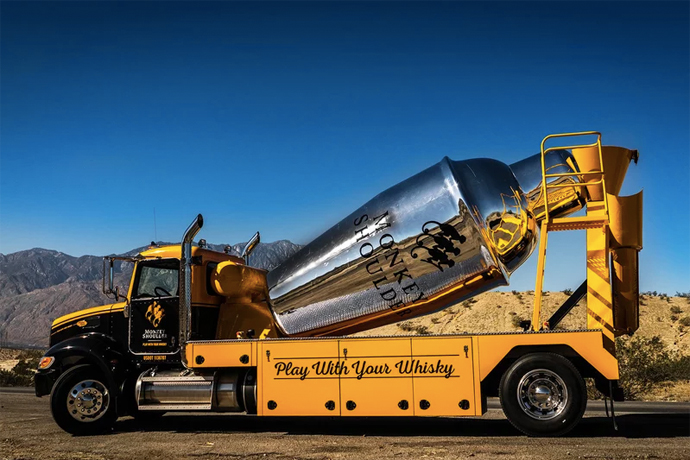 Monkey Shoulder Is Hauling This 27-Foot Shaker of Whisky Around the U.S.