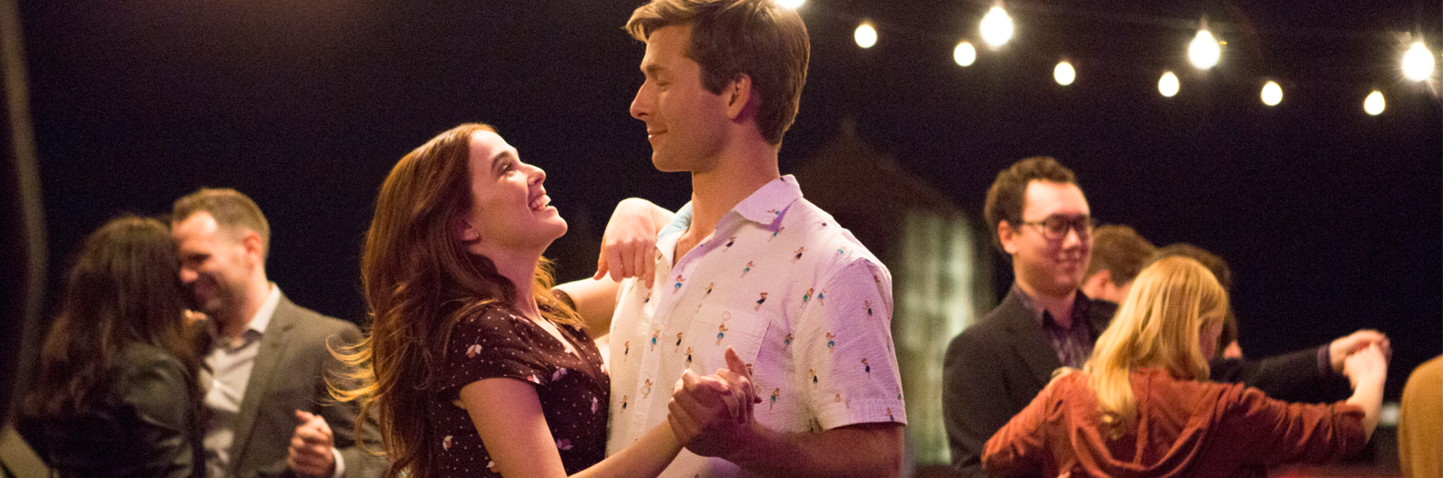 Pictured: Zoey Deutch and Blake Jenner in Everybody Wants Some!!