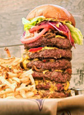 UD - LBS's Extreme Burger