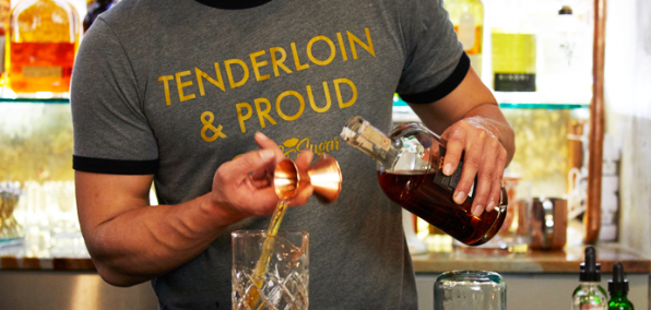 Rum Cocktails and Old-Timey Movies in the Tenderloin