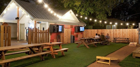 Rainey Streetu0027s One And Only Sports Bar Draws A Younger Crowd. Spacious  Astroturf Landscaped Backyard With Games, A Food Truck And Picnic Tables.
