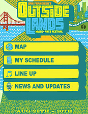 UD - Outside Lands iPhone App