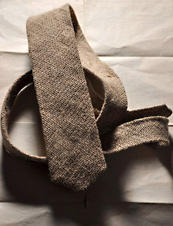 UrbanDaddy - Burlap Necktie from Nikolai Rose