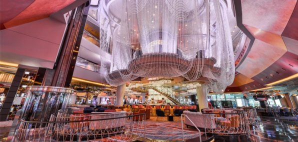 The Cosmopolitan's Cocktail Stronghold Goes Beyond the Looking Glass