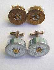 UrbanDaddy - Shotgun Shell Cufflinks by Ron Dotson