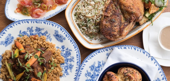 A Big, Shareable Middle Eastern Feast on 3rd Street