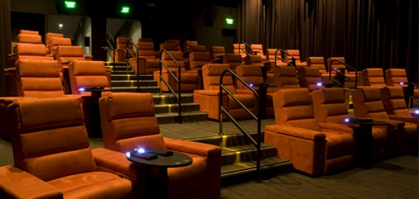 Gold Class Cinemas Pasadena Gold Rush