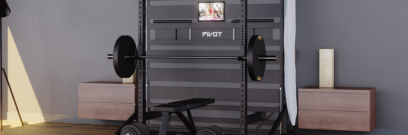 This Bed Transforms into a Home Gym