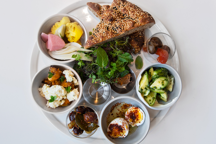 Kismet Los Angeles Rabbit Feasts Turkish Breakfast