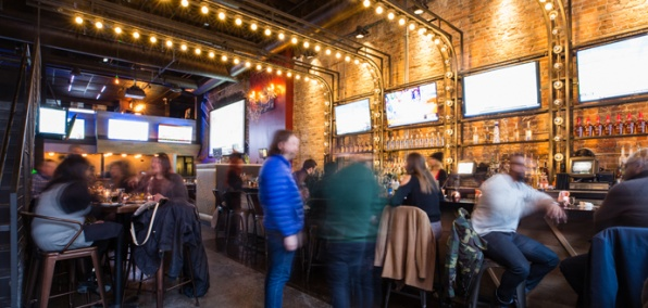 River North's Newest Sports Bar Does Things a Little Differently