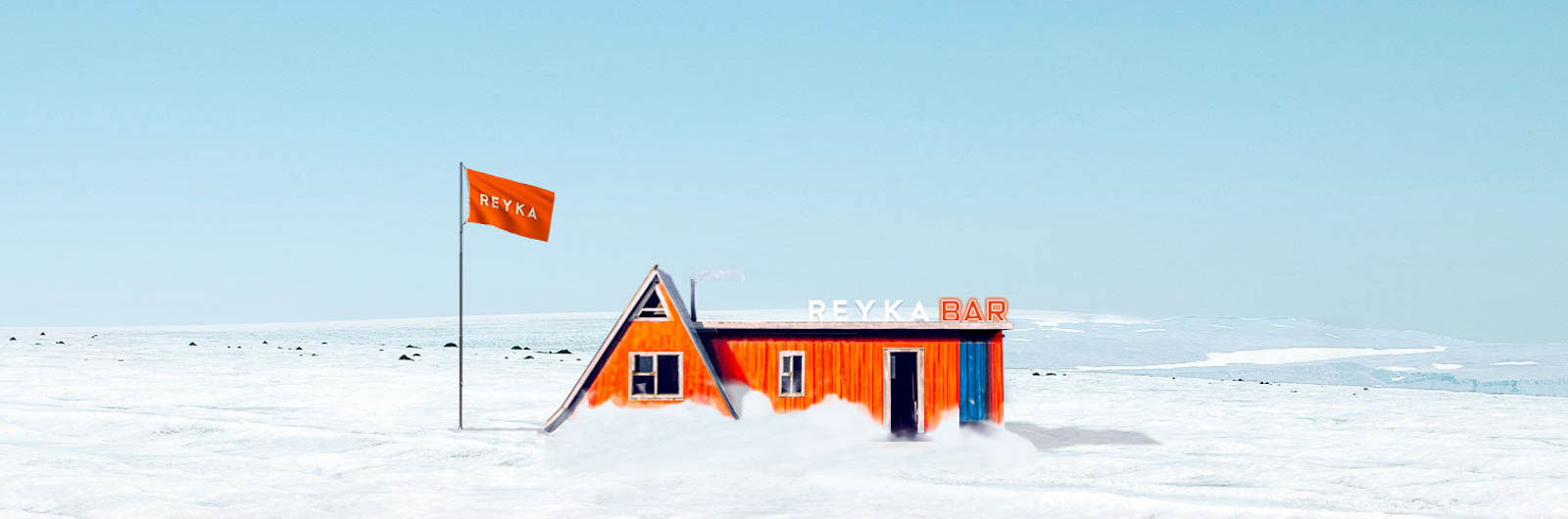 It's a Bar. On a Glacier.