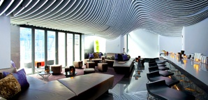 Living room bar and terrace new york future living - The living room lounge houston tx ...