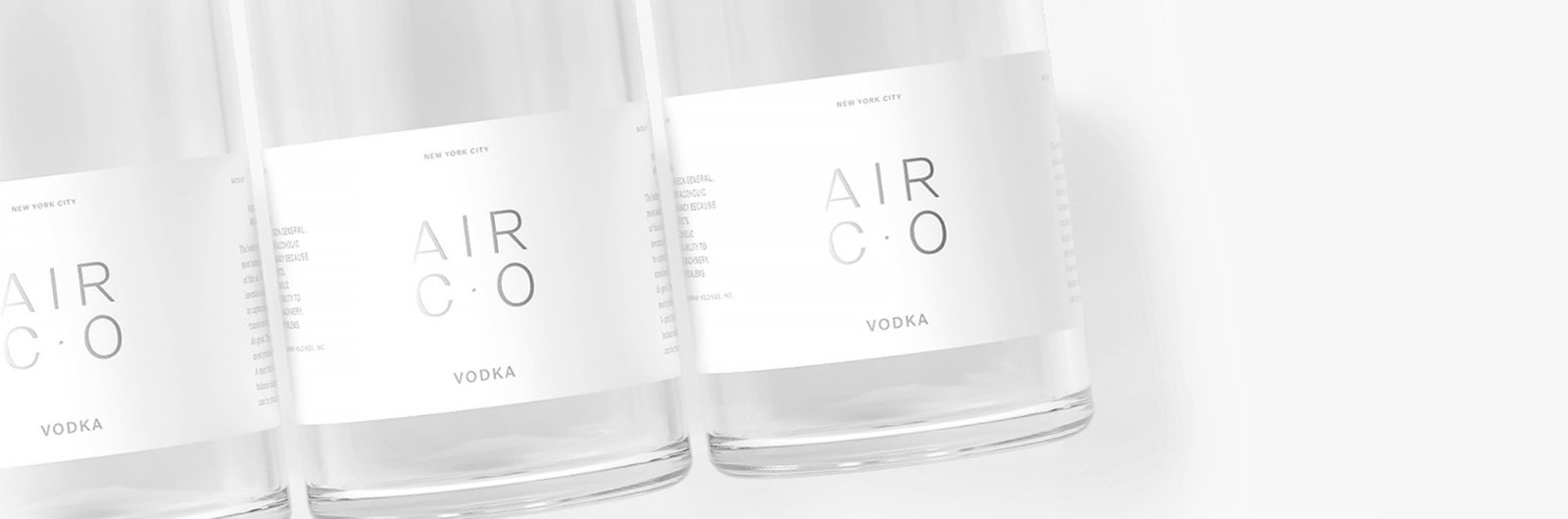 Carbon-Negative Vodka Made out of Thin Air