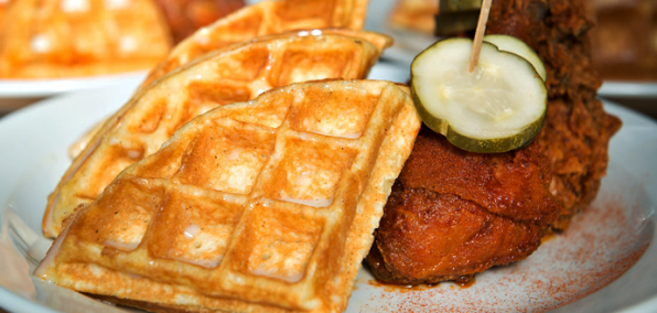 The Chicken Sounds Good. The Waffles Sound Weird. But Delicious-Weird.