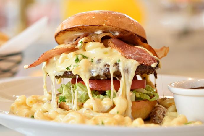 Most delicious looking burger