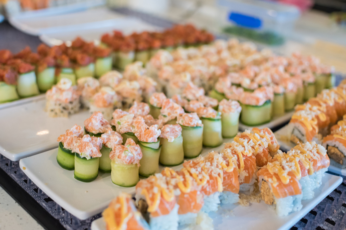 The Downtown Lunch Scene Just Got a Whole Lot Sushi-er
