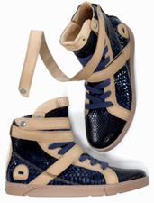 Sapphire Python Sneakers