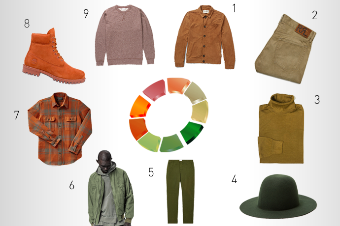 the fall color wheel your wardrobe according to the season s